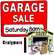 Garage Sale at 34 California Ave in Craigmore 8am-4pm Saturday