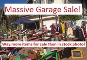 Huge deceased estate garage sale with everything imaginable!!